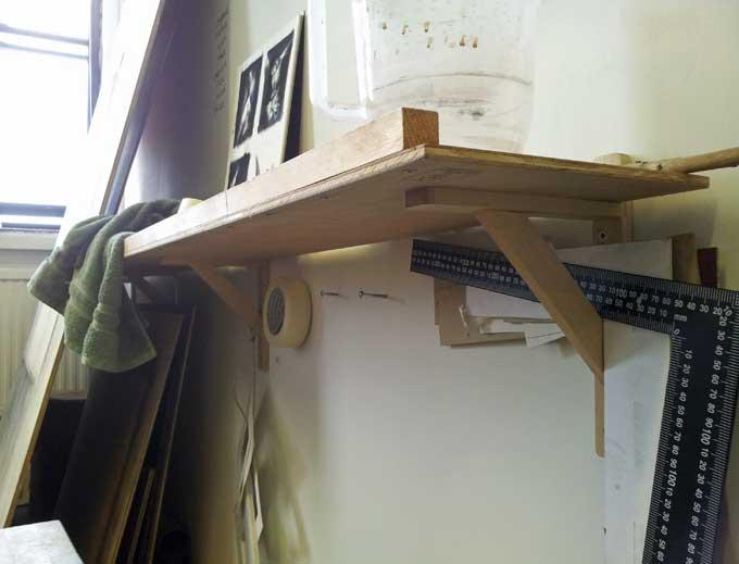 work-shelf