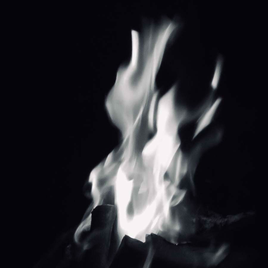 a photograph of some flames