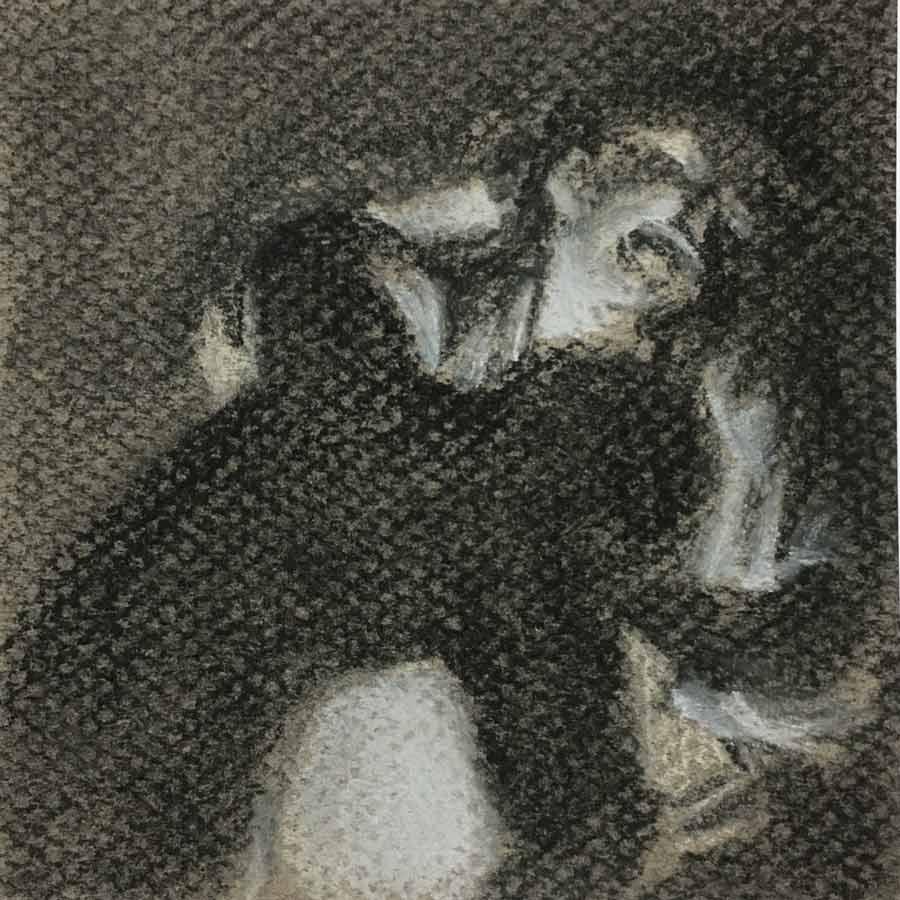 copy of Joseph Wright painting