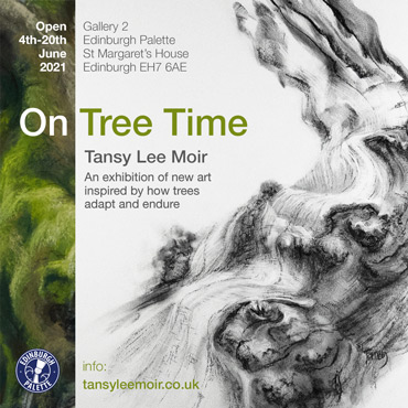 on tree time exhibition poster